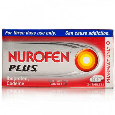 Nurofen Plus Tablets FREE DELIVERY (24 Tablets)