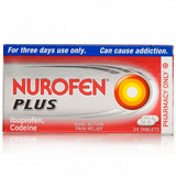 Nurofen Plus Tablets (24 Tablets)