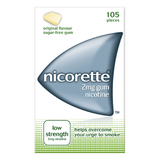 Nicorette Gum 2mg Original (105 Pieces)