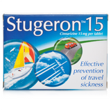 Stugeron Travel Sickness Tablets (15 Tablets)