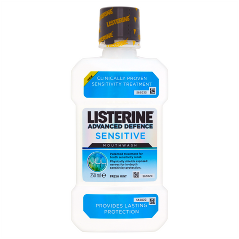 Listerine Advanced Defence Sensitive Mouthwash (250ml)