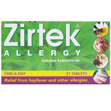Zirtek Allergy Relief Tablets (21 Tablets)