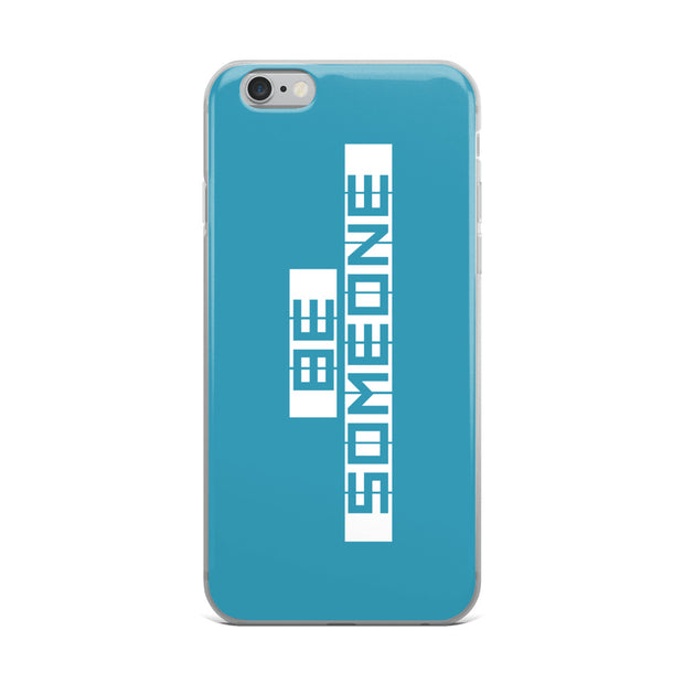 Be Someone iPhone Case - Houston Teal