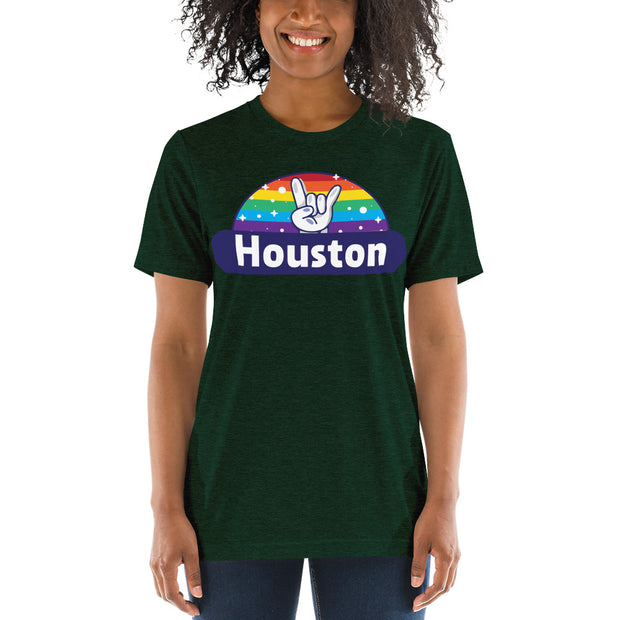 """Pride"" Houston Short sleeve t-shirt - unisex"