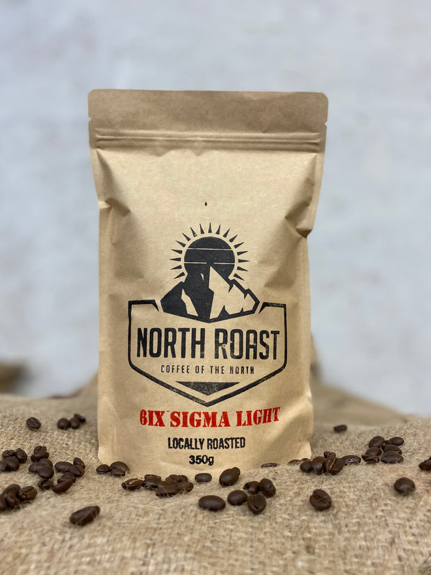 6ix Sigma Light Blend Coffee - North Roast Coffee BC