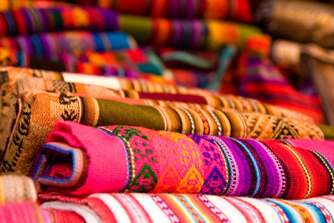 TEXTILES PLAYED AN IMPORTANT ROLE IN ANDEAN SOCIETY