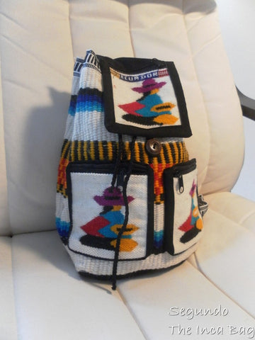 Handmade Mamaconda Wool Backpack