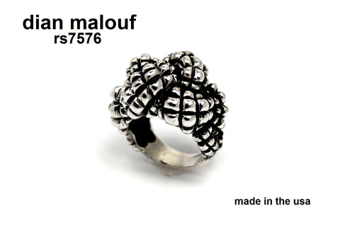 rs 7576- Crosshatch Knot Ring