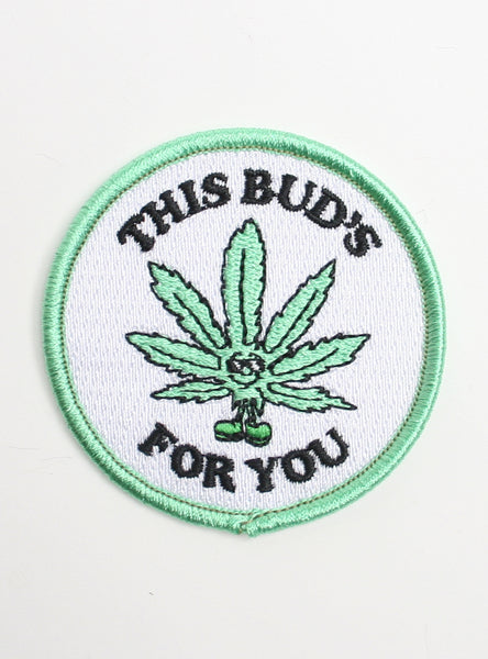 THIS BUD'S FOR YOU PATCH