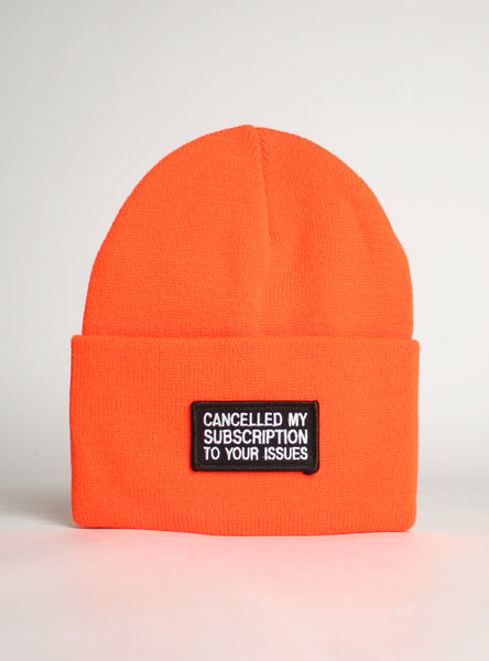 CANCELLED SUBSCRIPTION BEANIE