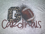 Go Cardinals School Spirit Tees