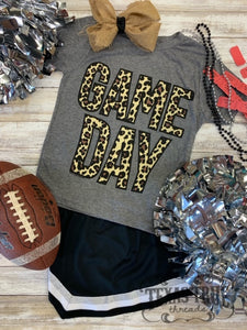 Leopard Game Day Graphic Tee