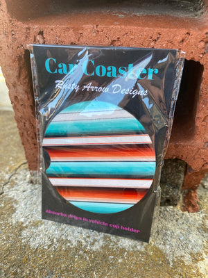 Absorbent Cork Car Coasters