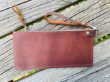 "Zip Pouch with Wristlet 10""x5"""