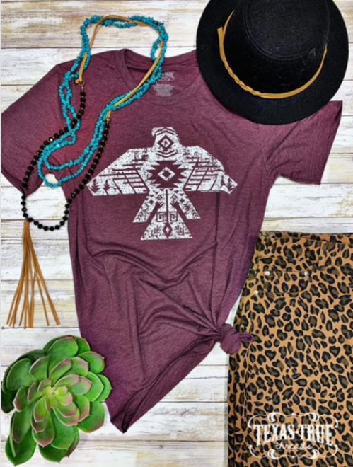Aztec Bird Graphic Tee