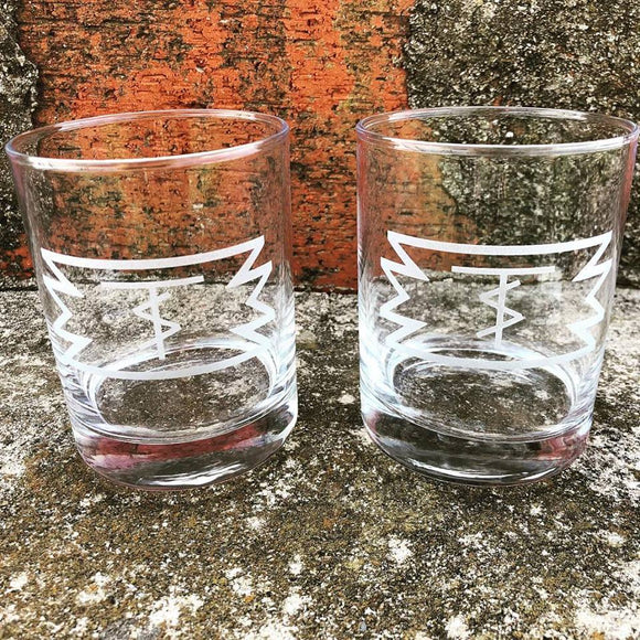 Custom Rocks Glasses