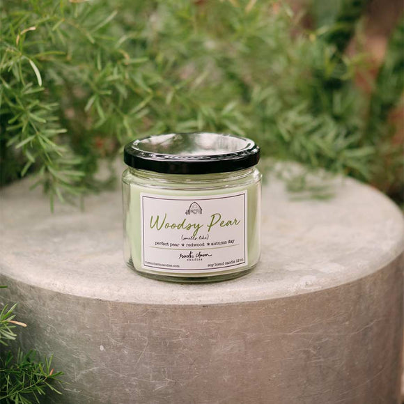 12oz Woodsy Pear Candle