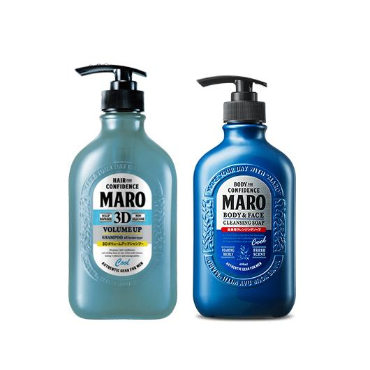 [BUNDLE] MARO HAIR SHAMPOO + MARO BODY & FACE CLEANSING SOAP