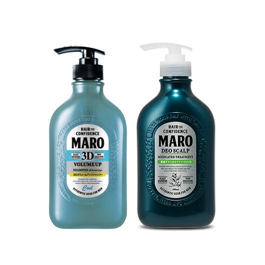 [BUNDLE] MARO HAIR SHAMPOO + MARO DEO SCALP MEDICATED TREATMENT - Tokyoninki