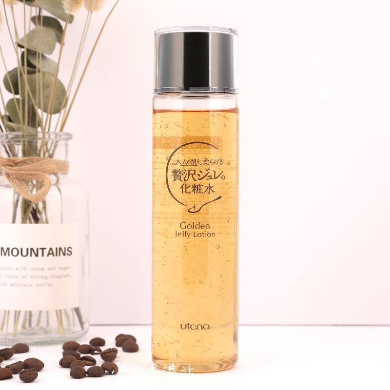 [ FREE HEADBAND ] Utena Premium Puresa Golden Jelly Lotion 190ML