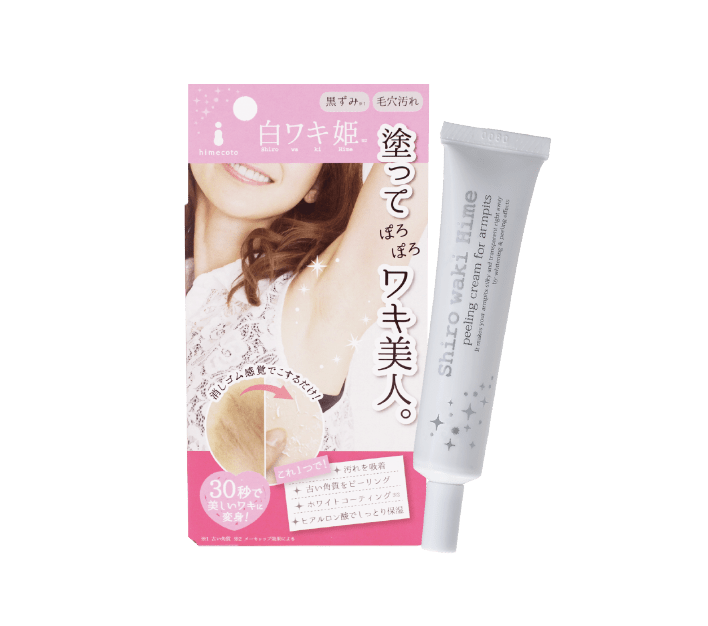 HIMECOTO SHIRO WAKI HIME UNDERARM EXFOLIATING & BRIGHTENING CREAM (18G)