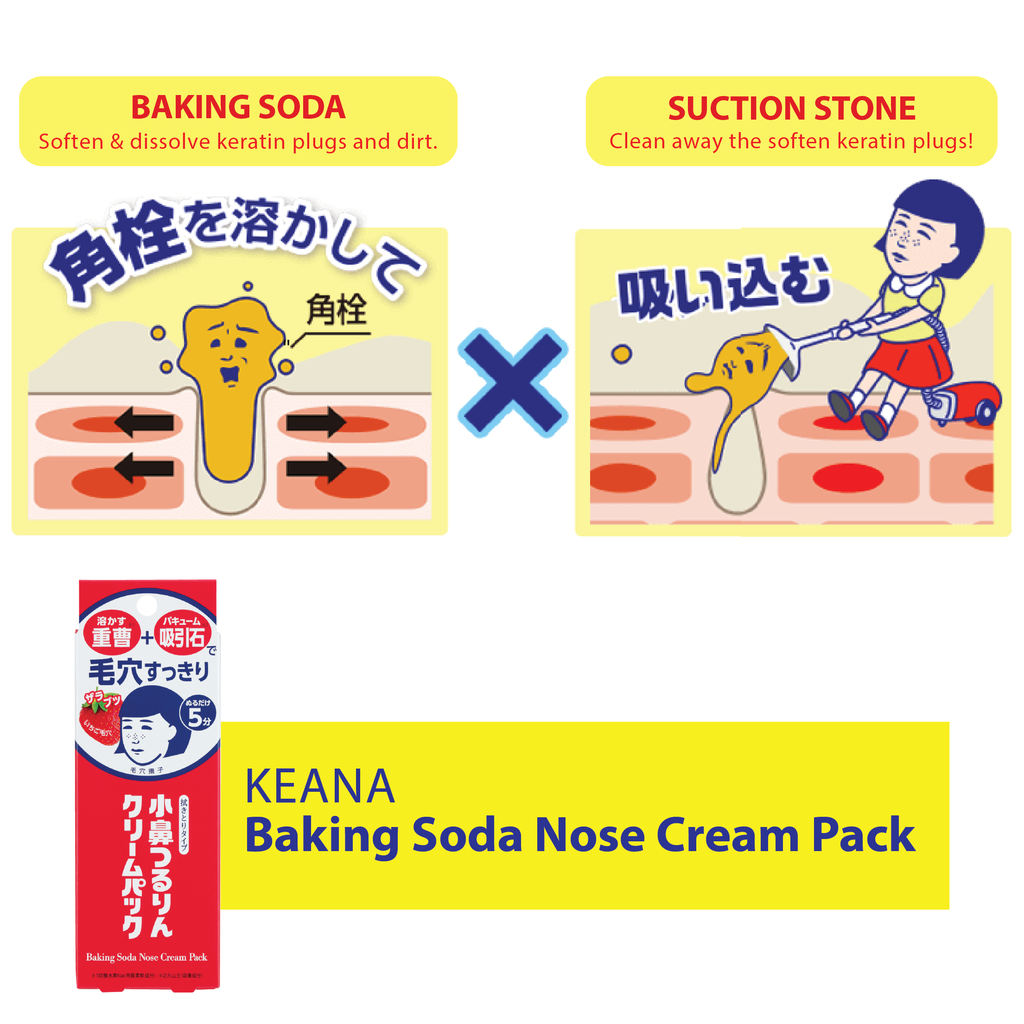 KEANA BAKING SODA NOSE CREAM PACK