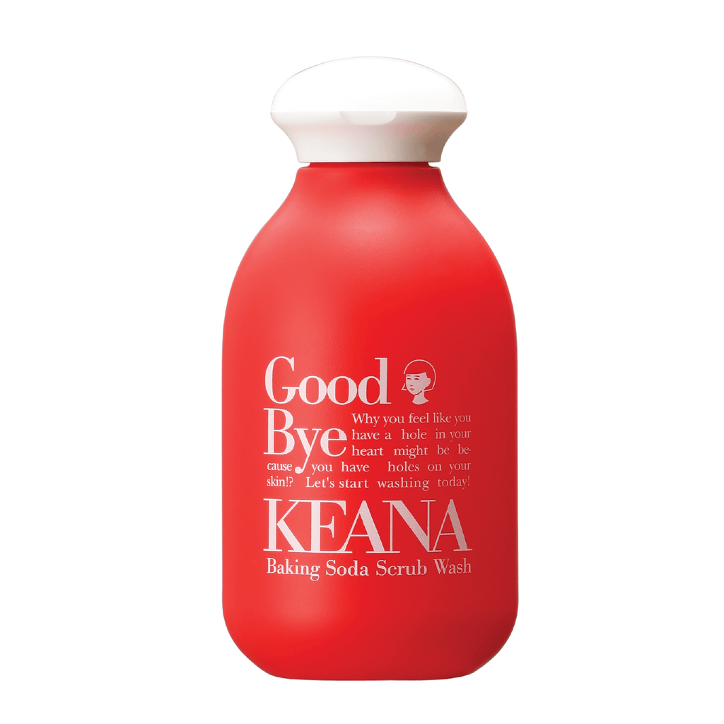 BACK OF KEANA BAKING SODA SCRUB WASH