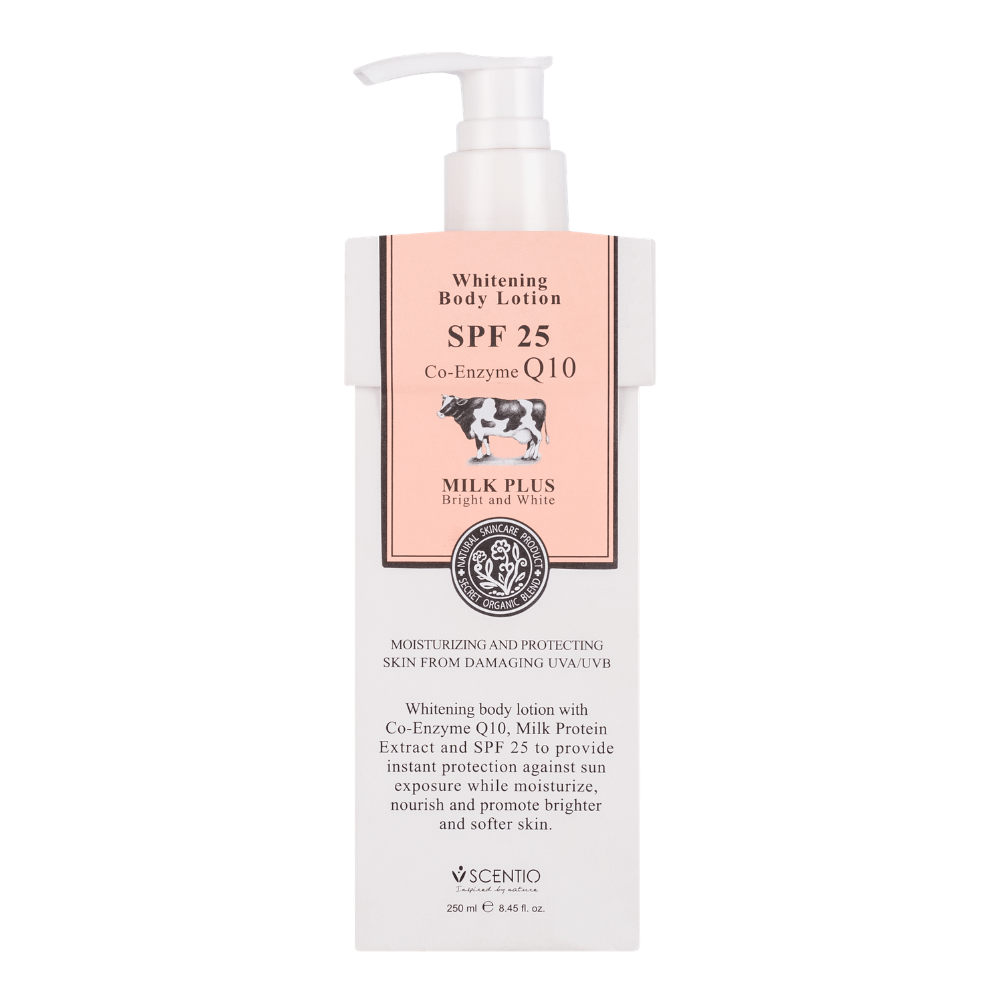 SCENTIO MILK PLUS BODY LOTION EXTRA SPF25 (250ML) - Tokyoninki
