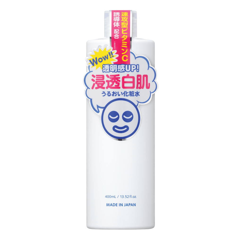 Tomei Shirohada Transparent White Lotion Bottle