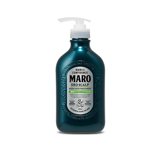 MARO DEO SCALP MEDICATED TREATMENT (480ML) - Tokyoninki