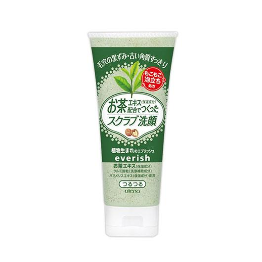 Utena Everish Scrub Wash Green Tea Extract 130G