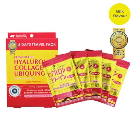 FINE Premium Hyaluron Collagen + Q10 Trial Pack