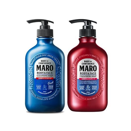 Maro Body & Face Cleansing Soap [2 Types To Choose]