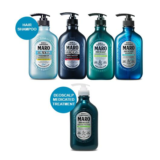 [BUNDLE] MARO HAIR SHAMPOO + MARO DEO SCALP MEDICATED TREATMENT