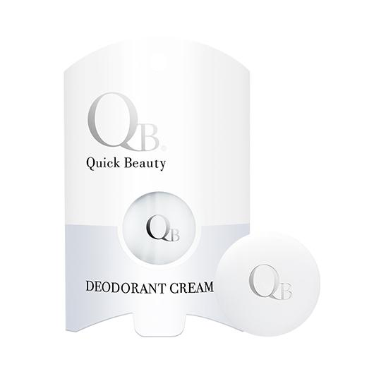 QB Deodorant Cream 6g and Packaging