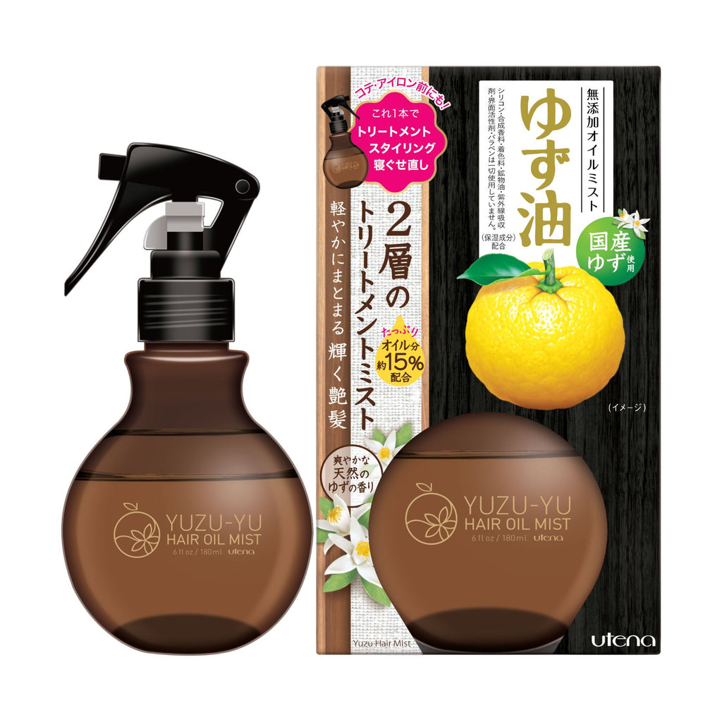 Utena Hair Oil Mist Yuzu 180ML