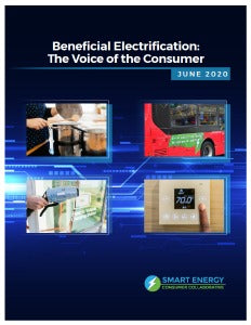 Beneficial Electrification: The Voice of the Consumer Report