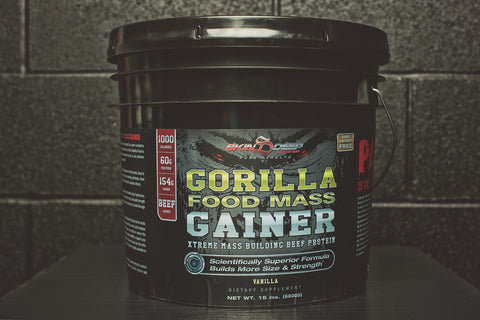 Gorilla Food Mass Gainer 15b