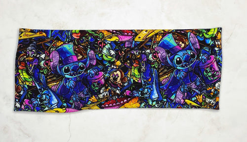 Haunted Stitcheries in The House Headband - Adult/Kid