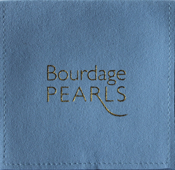 Large Graduated Cultured Freshwater Pearl Necklace with Diamond Clasp - I Do Pearls Chicago
