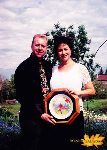 On our way for my presentation to HRH Prince Edward during the Lloydminster Centennial Celebrations in 2003