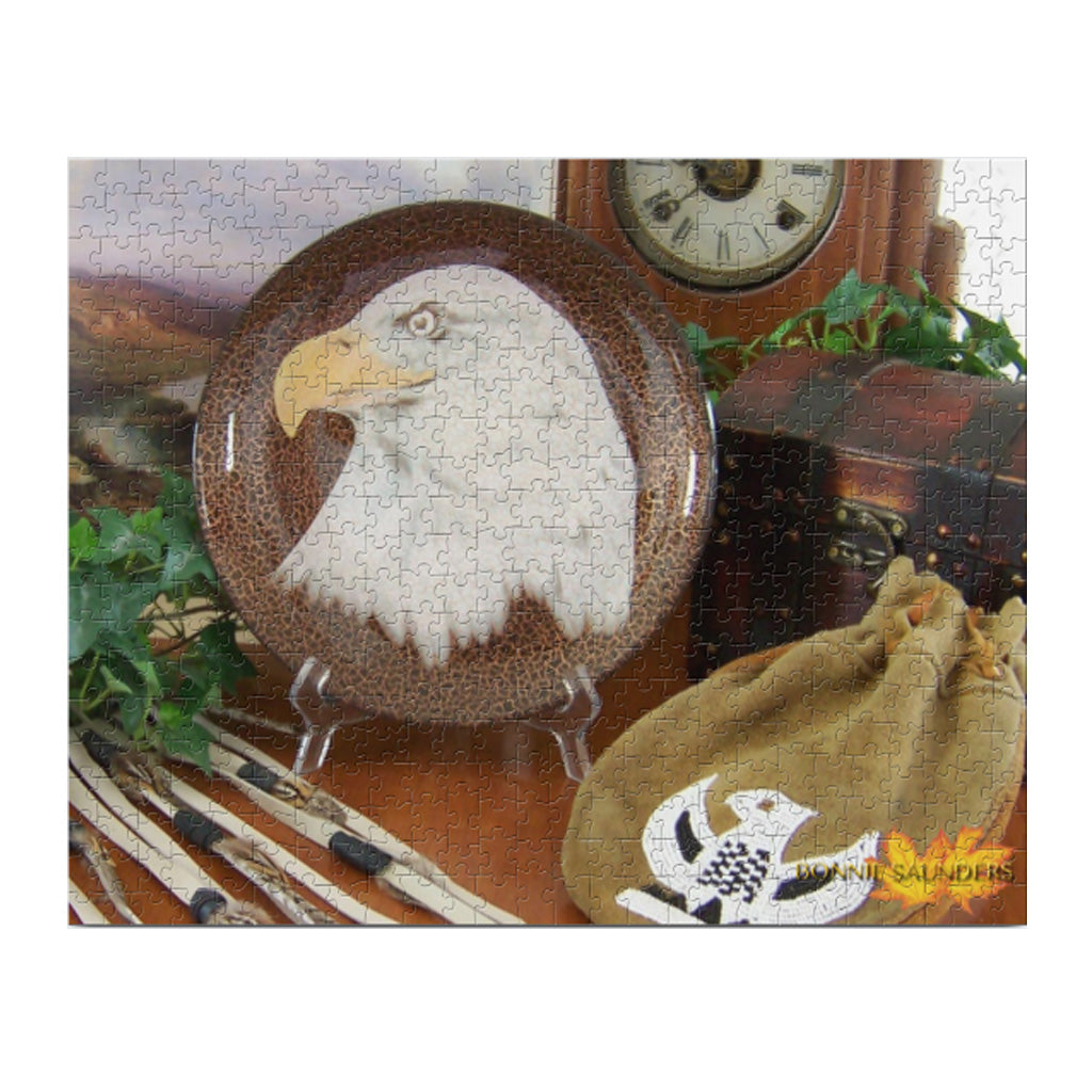 Bald Eagle Puzzle - 520 pc.