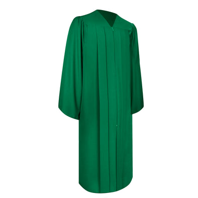 Matte Green Bachelor Graduation Gown