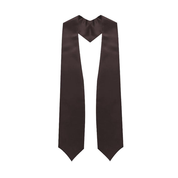 College & University Brown Graduation Stole - Endea Graduation