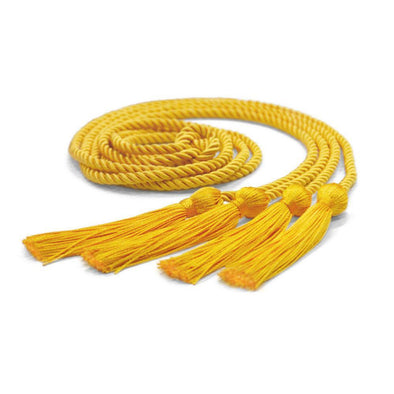 College & University Double Graduation Honor Cord Gold - Endea Graduation