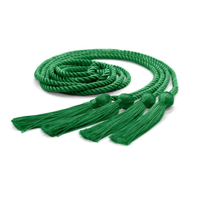 College & University Double Graduation Honor Cord Green - Endea Graduation