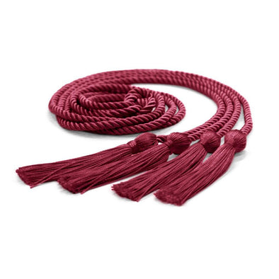 College & University Double Graduation Honor Cord Maroon - Endea Graduation