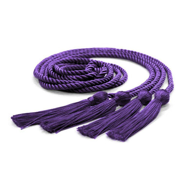College & University Double Graduation Honor Cord Purple - Endea Graduation