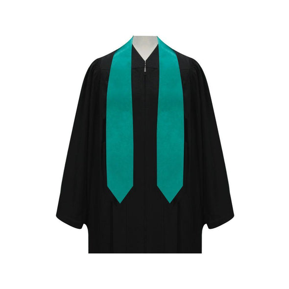 College & University Emerald Green Graduation Stole - Endea Graduation