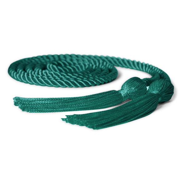 College & University Single Graduation Honor Cord Emerald Green - Endea Graduation
